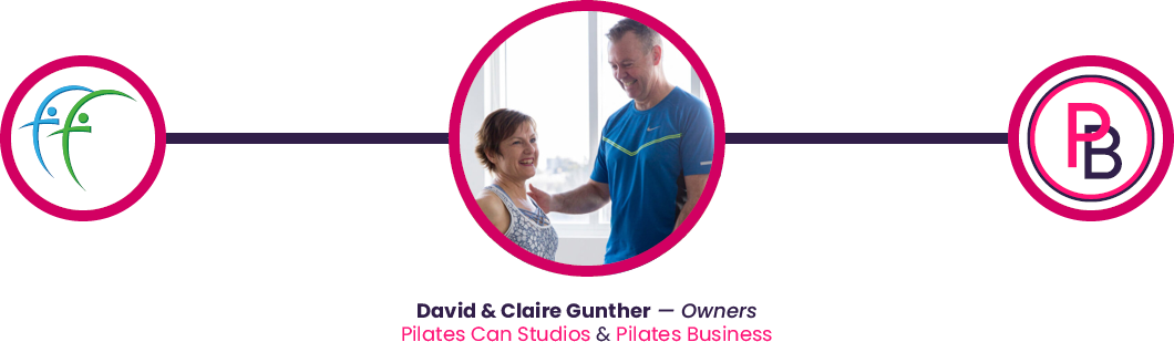 pilates business owners david and claire