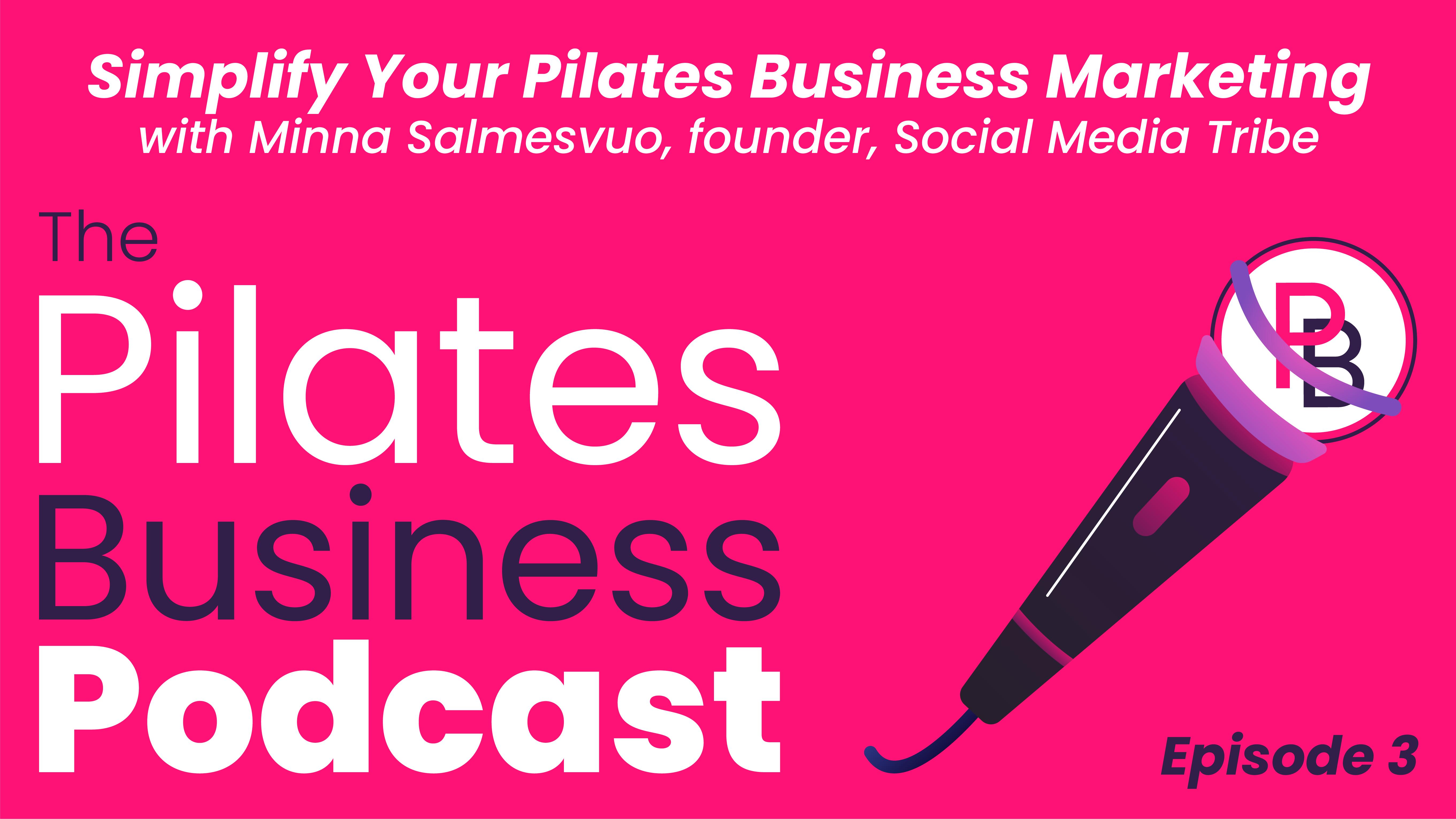 pilates business marketing with minna
